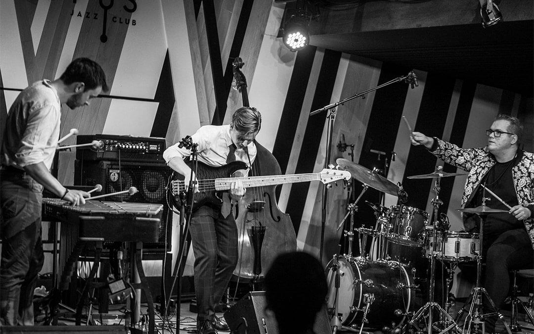 Marcin Pater Trio at the Polska Jazz Festival