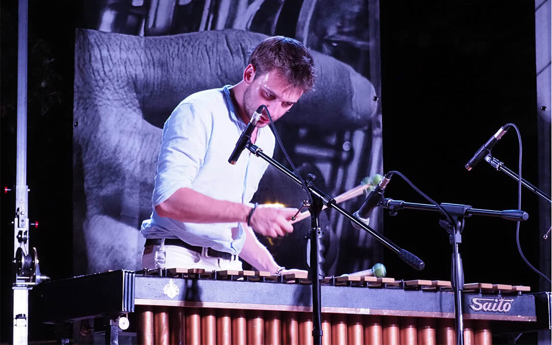 Marcin Pater at the Fara Music Festival